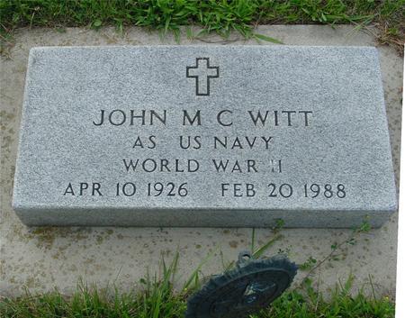 WITT, JOHN - Ida County, Iowa   JOHN WITT