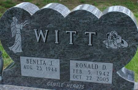 WITT, RONALD D. - Ida County, Iowa | RONALD D. WITT