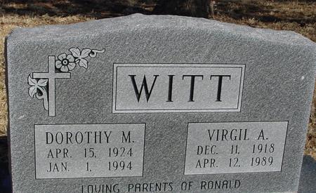 WITT, VIRGIL & DOROTHY - Ida County, Iowa | VIRGIL & DOROTHY WITT