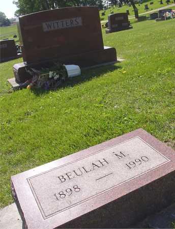 WITTERS, BEULAH M. - Ida County, Iowa   BEULAH M. WITTERS