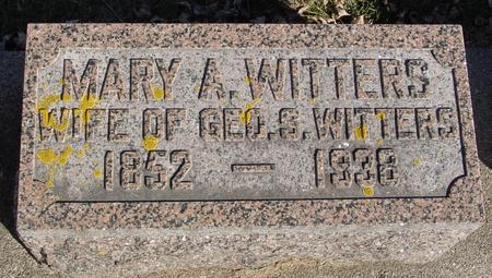 WITTERS, MARY A. - Ida County, Iowa | MARY A. WITTERS