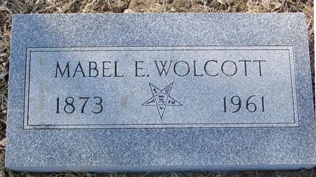 WOLCOTT, MABEL  E. - Ida County, Iowa   MABEL  E. WOLCOTT