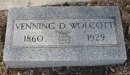 WOLCOTT, VENNING D. - Ida County, Iowa | VENNING D. WOLCOTT