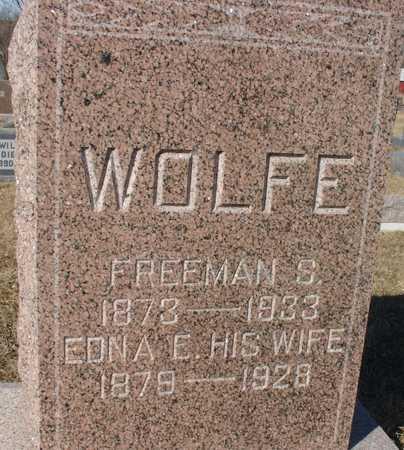 SCOTT WOLFE, EDNA ELIZABETH - Ida County, Iowa   EDNA ELIZABETH SCOTT WOLFE