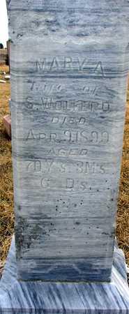 WOLFERD, MARY A. - Ida County, Iowa   MARY A. WOLFERD