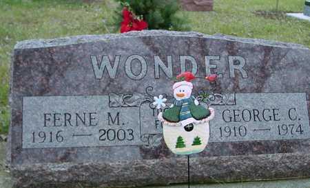 WONDER, GEORGE & FERNE - Ida County, Iowa | GEORGE & FERNE WONDER