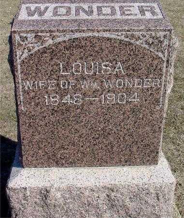 WONDER, LOUISA - Ida County, Iowa   LOUISA WONDER