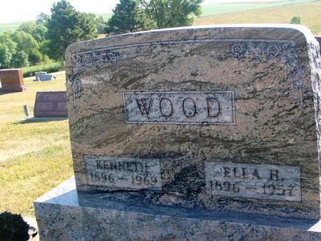 WOOD, KENNETH & ELLA H. - Ida County, Iowa | KENNETH & ELLA H. WOOD