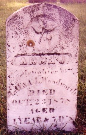 WOODWORTH, ANNA - Ida County, Iowa | ANNA WOODWORTH