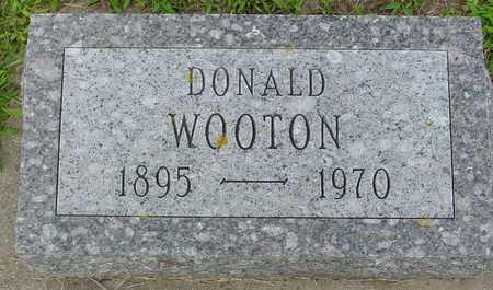 WOOTON, DONALD - Ida County, Iowa | DONALD WOOTON