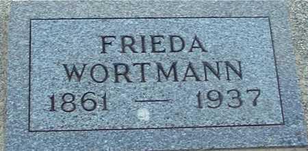 WORTMANN, FRIEDA - Ida County, Iowa   FRIEDA WORTMANN