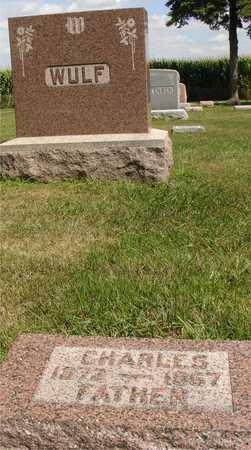 WULF, CHARLES - Ida County, Iowa | CHARLES WULF