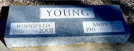 YOUNG, ANDY & WINNIFRED - Ida County, Iowa | ANDY & WINNIFRED YOUNG