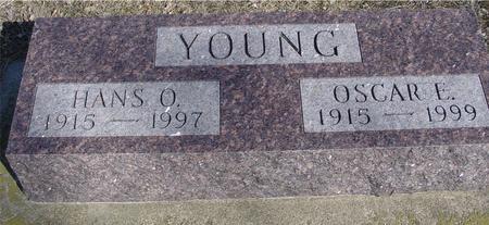 YOUNG, HANS & OSCAR - Ida County, Iowa | HANS & OSCAR YOUNG