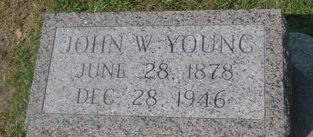 YOUNG, JOHN W. - Ida County, Iowa | JOHN W. YOUNG