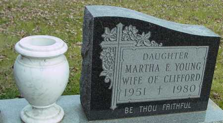 YOUNG, MARTHA E. - Ida County, Iowa | MARTHA E. YOUNG