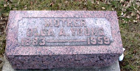 YOUNG, OLGA A. - Ida County, Iowa | OLGA A. YOUNG