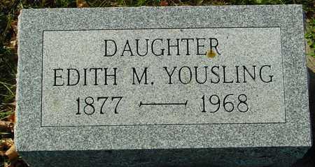 YOUSLING, EDITH M. - Ida County, Iowa | EDITH M. YOUSLING