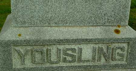 YOUSLING, GEORGE - Ida County, Iowa   GEORGE YOUSLING