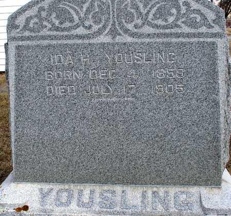 YOUSLING, IDA H. - Ida County, Iowa | IDA H. YOUSLING