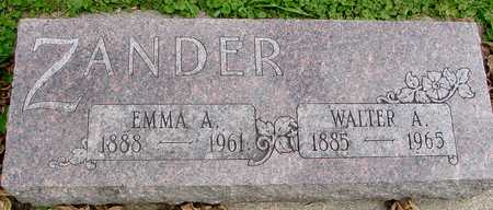 ZANDER, WALTER & EMMA - Ida County, Iowa | WALTER & EMMA ZANDER