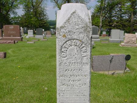 ZARTMAN, CATHARINE - Ida County, Iowa | CATHARINE ZARTMAN