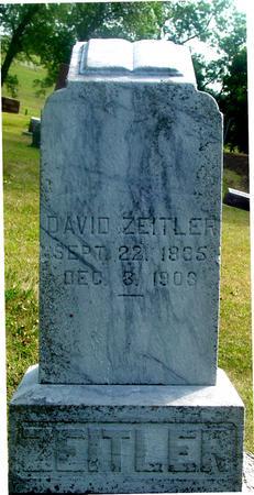 ZEITLER, DAVID - Ida County, Iowa | DAVID ZEITLER