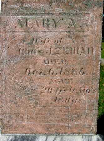 ZEMAN, MARY A. - Ida County, Iowa | MARY A. ZEMAN