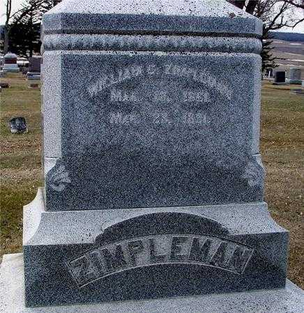 ZIMPLEMAN, WILLIAM C. - Ida County, Iowa | WILLIAM C. ZIMPLEMAN