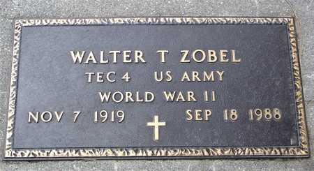 ZOBEL, WALTER T. - Ida County, Iowa   WALTER T. ZOBEL