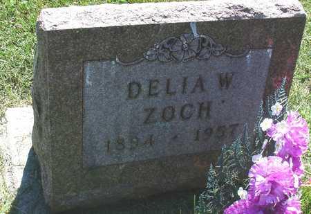 ZOCH, DELIA W. - Ida County, Iowa   DELIA W. ZOCH