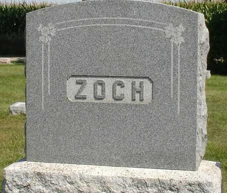 ZOCH, FAMILY MARKER - Ida County, Iowa | FAMILY MARKER ZOCH