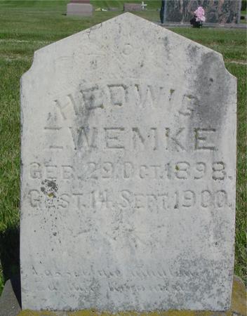 ZWEMKE, HEDWIG - Ida County, Iowa | HEDWIG ZWEMKE