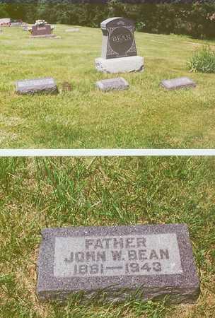 BEAN, JOHN W. - Iowa County, Iowa | JOHN W. BEAN