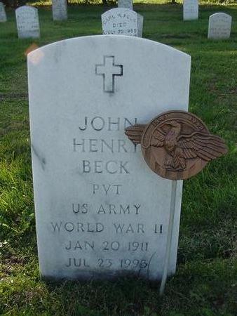 BECK, JOHN - Iowa County, Iowa | JOHN BECK