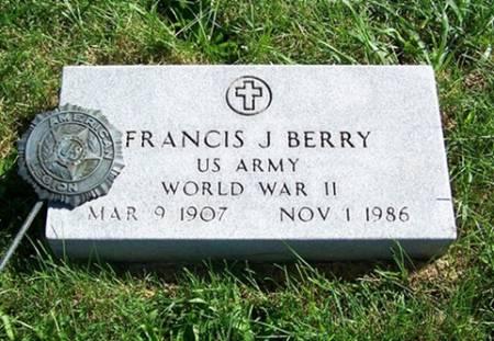 BERRY, FRANCIS - Iowa County, Iowa | FRANCIS BERRY