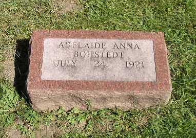 BOHSTEDT, ADELAIDE ANNA - Iowa County, Iowa | ADELAIDE ANNA BOHSTEDT