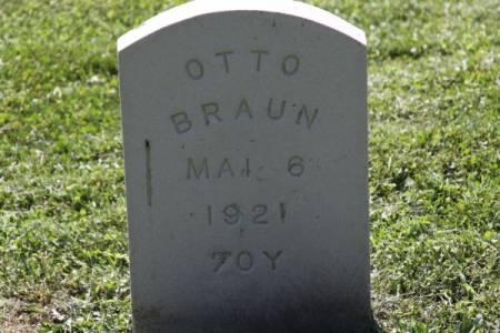 BRAUN, OTTO - Iowa County, Iowa | OTTO BRAUN