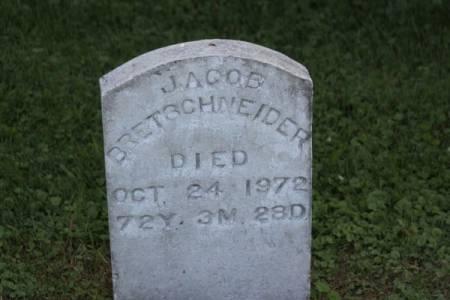 BRETSCHNEIDER, JACOB - Iowa County, Iowa   JACOB BRETSCHNEIDER