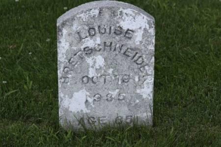 BRETSCHNEIDER, LOUISE - Iowa County, Iowa | LOUISE BRETSCHNEIDER