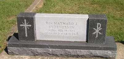 BROTHERSEN, MAYNARD J - Iowa County, Iowa | MAYNARD J BROTHERSEN