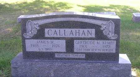 CALLAHAN, JAMES - Iowa County, Iowa | JAMES CALLAHAN