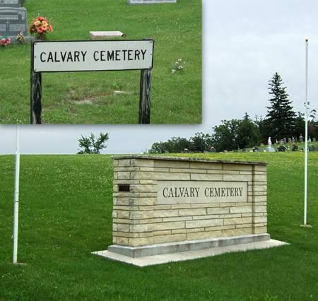 CALVARY CATHOLIC (VICTOR), CEMETERY - Iowa County, Iowa | CEMETERY CALVARY CATHOLIC (VICTOR)