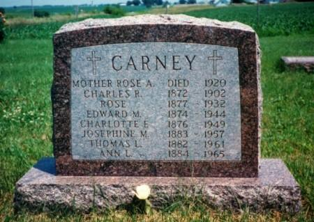 CARNEY, ROSE - Iowa County, Iowa | ROSE CARNEY