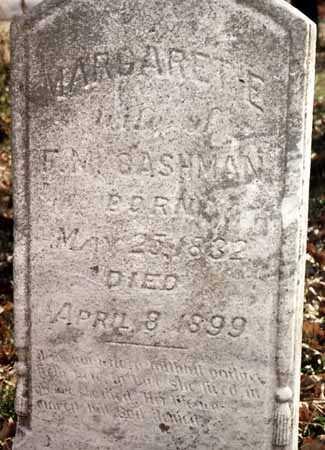 CASHMAN, MARGARET E. - Iowa County, Iowa   MARGARET E. CASHMAN