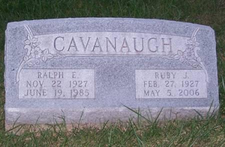 CAVANAUGH, RALPH E. - Iowa County, Iowa   RALPH E. CAVANAUGH