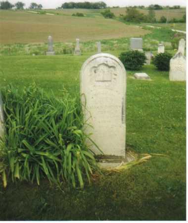 HADLEY CHENEY, HANNAH - Iowa County, Iowa | HANNAH HADLEY CHENEY