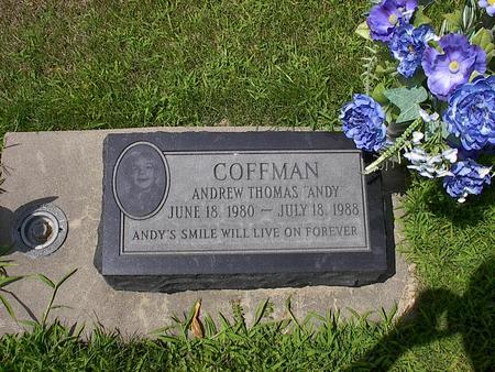 COFFMAN, ANDREW THOMAS - Iowa County, Iowa | ANDREW THOMAS COFFMAN