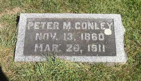 CONLEY, PETER M - Iowa County, Iowa | PETER M CONLEY