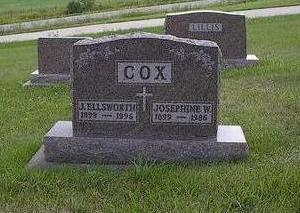 COX, J. ELLSWORTH - Iowa County, Iowa | J. ELLSWORTH COX